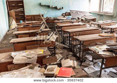 Photo taken at chernobyl school in march 2012