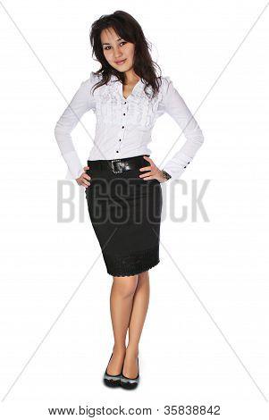 Business Woman Full Body