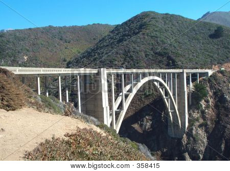 Bigsby Bridge In Big Sir California