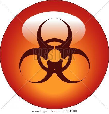 Button Biohazard.