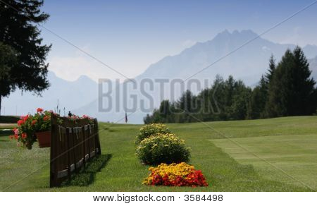 Crans Montana Golf Course, Switzerland