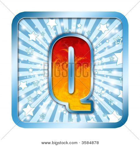 Alphabet Celebration Letter - Qr