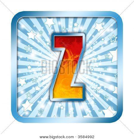 Alphabet Celebration Letter - Z
