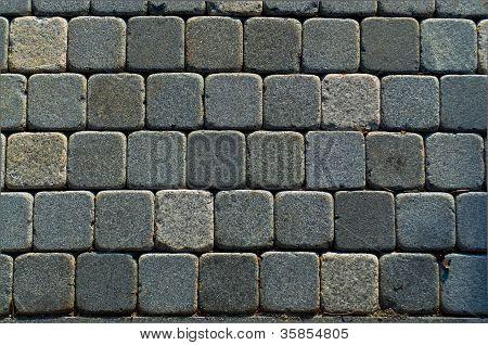 Square Brick Path Horizontal