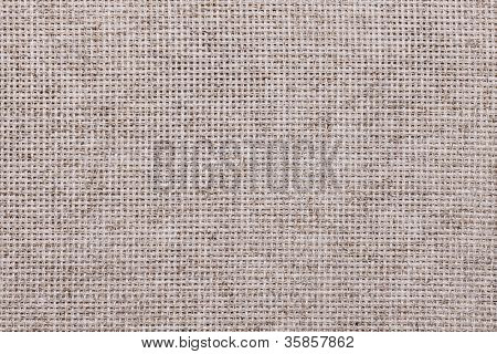 Gray linen cloth canvas background, copy space design ready