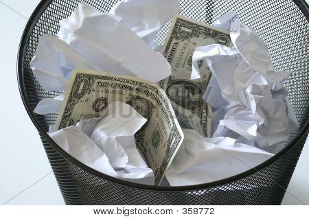 Money In Bin