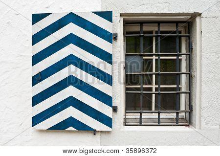 Striped Shutter
