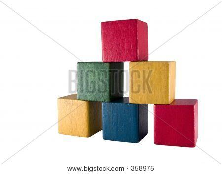 Old Play Blocks