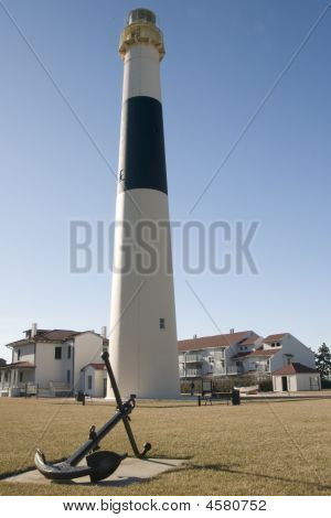 Absecon Light House With Anchor