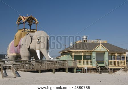 Lucy The Elephant Beach View