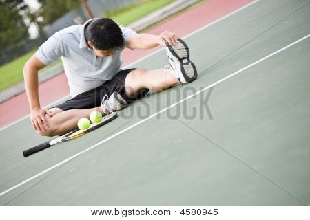 Asian Tennisspieler