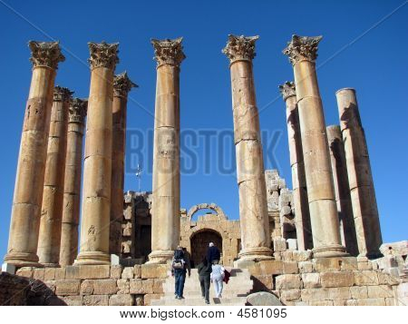 Entering The Temple Of Artemis