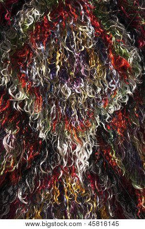 Fluffy Turkish Carpet