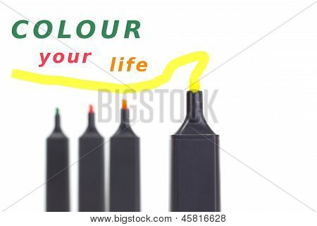 Colour Your Life With Colourful Highlighters!