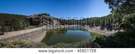 Dam On Mountains