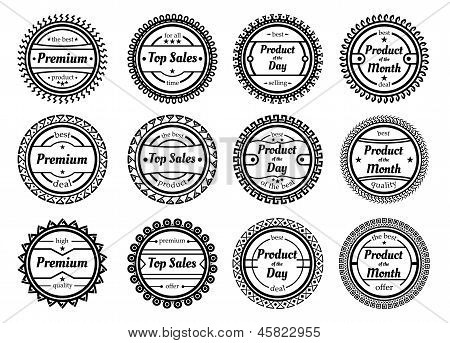 Collection Of Authentic Labels