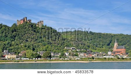 Oberwesel,middle Rhine Valley,Germany