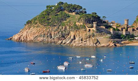 Tossa de Mar,Costa Brava,Spain