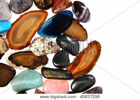 Luxury Color Gems As Background