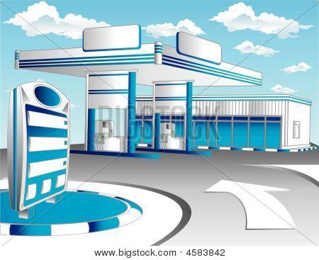 Blue Refuel Station