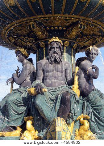 Fountain.  Paris.