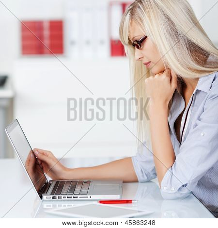 Woman Browsing