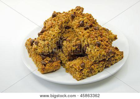 Chocolate flapjack oatcakes