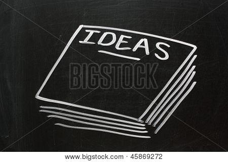 Ideas on a Blackboard