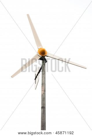 Windmill Isolated On White
