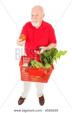 Healthy Senior Shopper