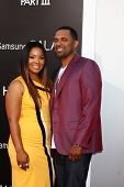 LOS ANGELES - MAY 20:  Mike Epps and wife Mechelle McCain at the