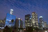 Постер, плакат: Горизонты города Лос Анджелес