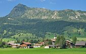 Village of Tannheim,Tannheim Valley,Austria