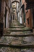 Old town of San Remo, Liguria, Italy