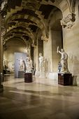 Statues At The Louvre, Paris, France