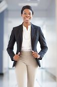 stock photo of blazer  - Young African - JPG
