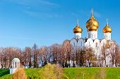 stock photo of xx  - Uspensky Cathedral in Yaroslavl  - JPG
