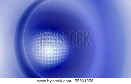 Vector Abstract Background With Grid