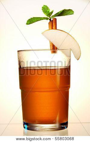 Hot orange juice