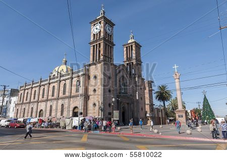 Catholic Cathedral In Tijuana