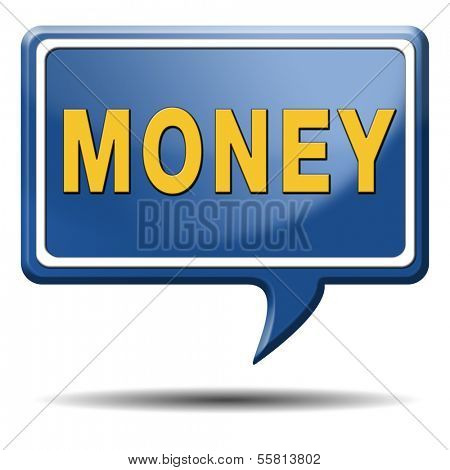 money icon search for cash or credit bank loan money icon earning money button