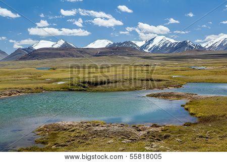 View of Arabel valley. Tien Shan, Kirghizia
