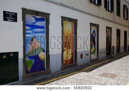 Street Art - Open Door Art - Doors