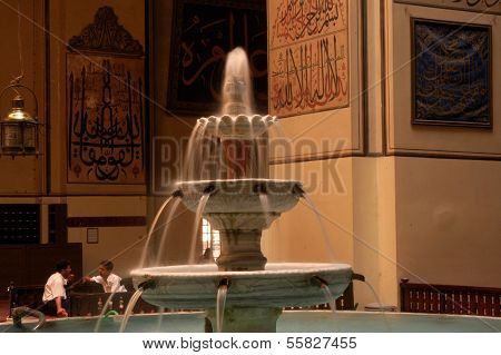 Bursa Grand Mosque Fountain