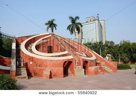Jantar Mantar- Medieval Observatory In Delhi, India