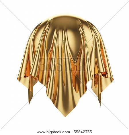 Sphere Coverered Golden Silk