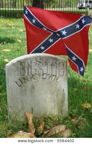 Unknown Soldiers Grave At Appomattox Va 2