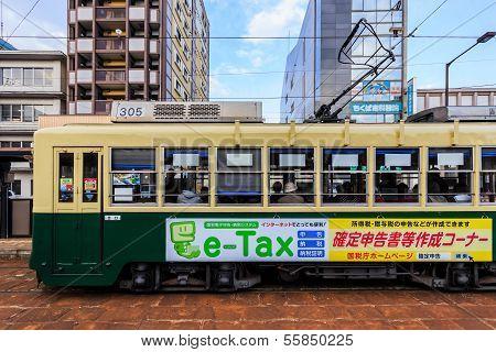 Nagasaki Street Car