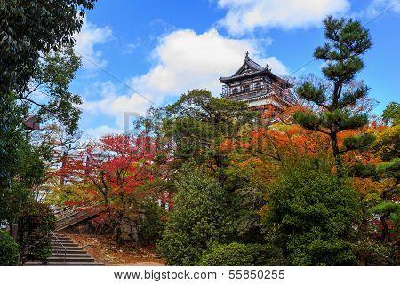 Hiroshi Castle in Autumn