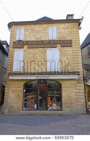 16th century house at the place du Peyrou in Sarlat, France